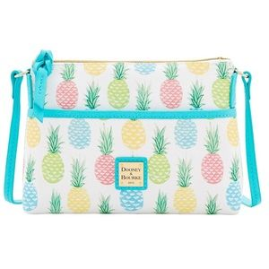 Dooney & Bourke White Pineapple Ginger Crossbody